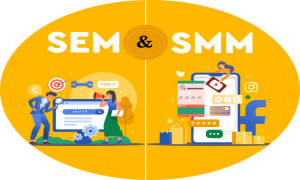 What is SEM and SMM   Digital Marketing Guide